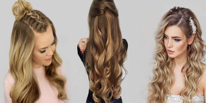 صورة تسريحات شعر طويل , قصات للشعر الطويل