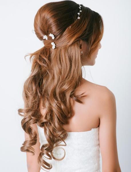 بالصور تسريحات شعر طويل , قصات للشعر الطويل 3831 7