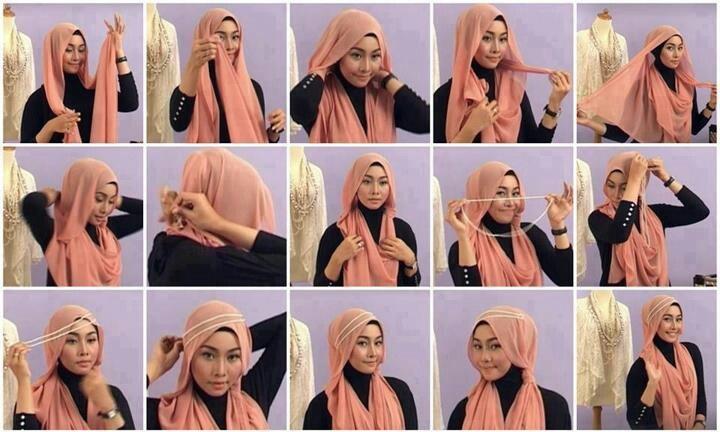 بالصور حجاب فاشون , اقوى اللفات العصرية للمحجبات لهذا العام 466 10