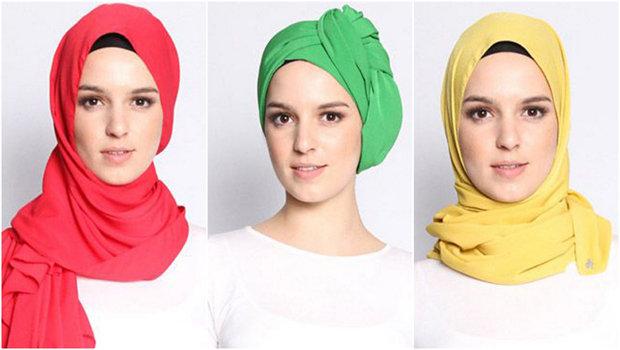 بالصور حجاب فاشون , اقوى اللفات العصرية للمحجبات لهذا العام 466 13