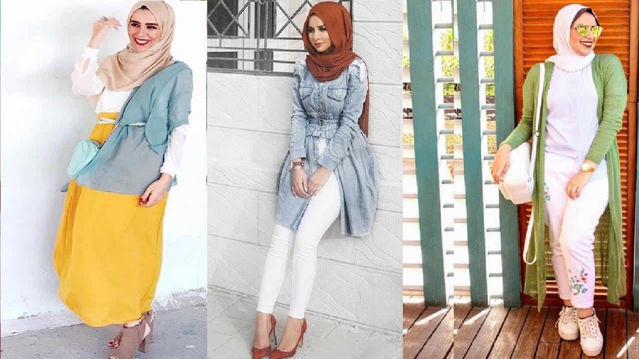 صوره حجاب فاشون , اقوى اللفات العصرية للمحجبات لهذا العام