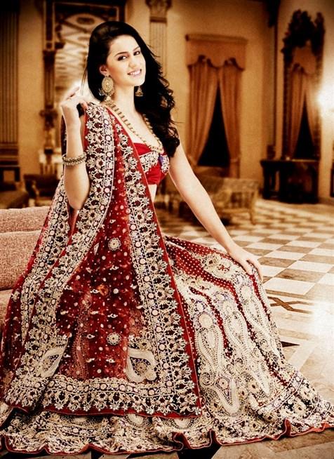 صور ازياء هندية , ملابس وسروال هندى اصيل