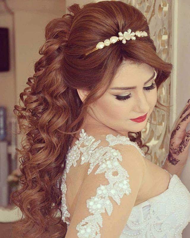 صورة تسريحات عرايس , ابداعات وتسريحات عالمية لشعر العرائس