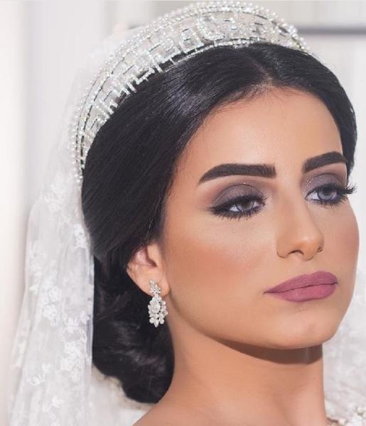 بالصور صور مكياج عرايس ناعم , ماك اب خفيف وراقى جدا للعروسة 1411 9