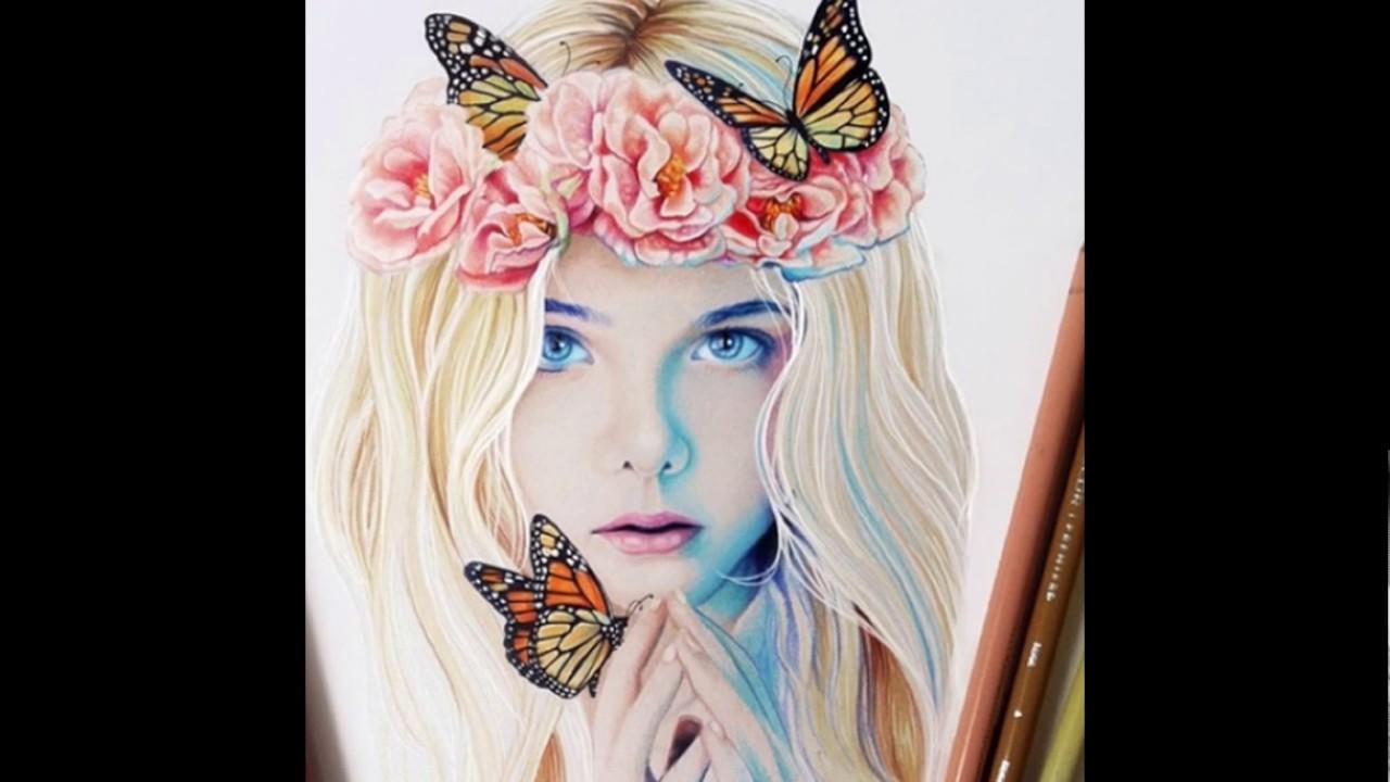 بالصور رسومات جميله , نقوش على لوحة تعبر عن روعتها 1412 8