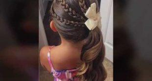 صوره تسريحات بنات , قصات شعر وتسريحة حلوة وسهلة