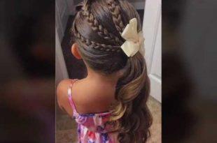 صورة تسريحات بنات , قصات شعر وتسريحة حلوة وسهلة