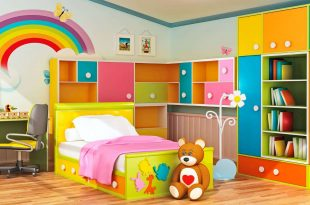 صورة غرف اطفال مودرن , ديكورات اخر شياكة