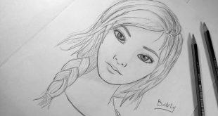 صور رسومات بنات سهله , اروع اشكال للرسم