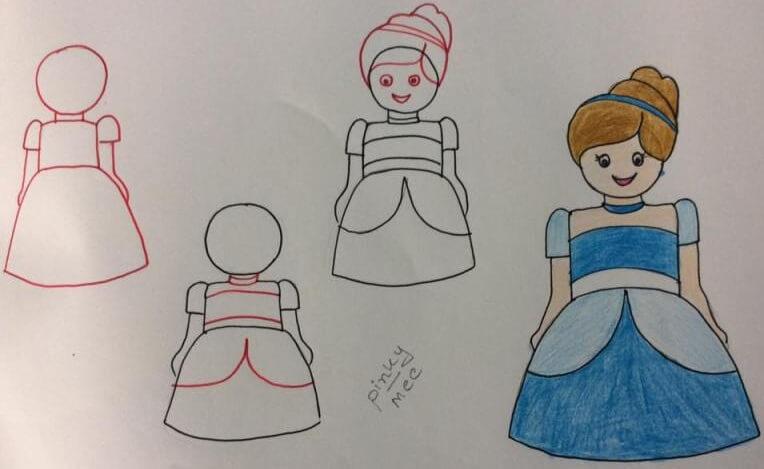 بالصور رسومات بنات سهله , اروع اشكال للرسم 3752 7