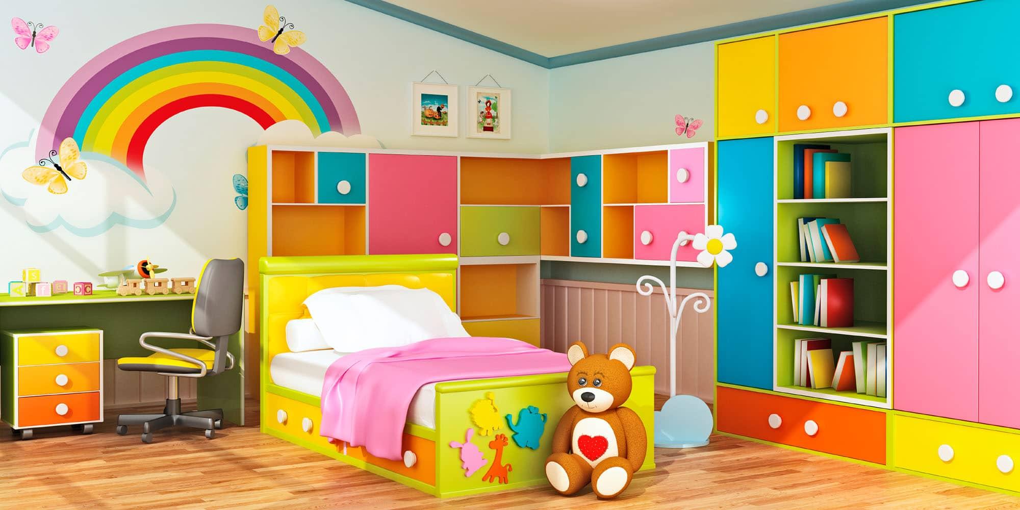 بالصور ديكورات غرف اطفال , اشكال جديدة لغرفة نوم الاطفال 954 1