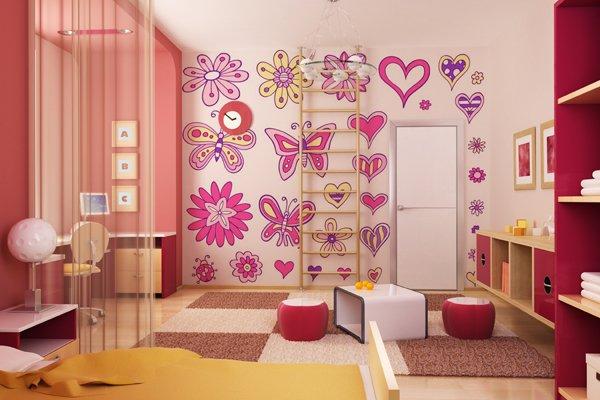 بالصور ديكورات غرف اطفال , اشكال جديدة لغرفة نوم الاطفال 954 7