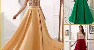 بالصور فساتين سهرة للبنات , اروع تشكيلة لفستان سوارية 3768 19 310x165