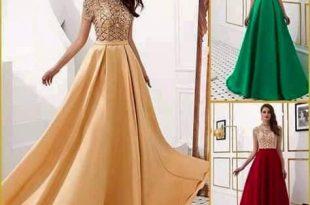 صور فساتين سهرة للبنات , اروع تشكيلة لفستان سوارية