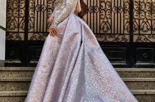 صور فساتين خطوبة , فستان بناتى سورية