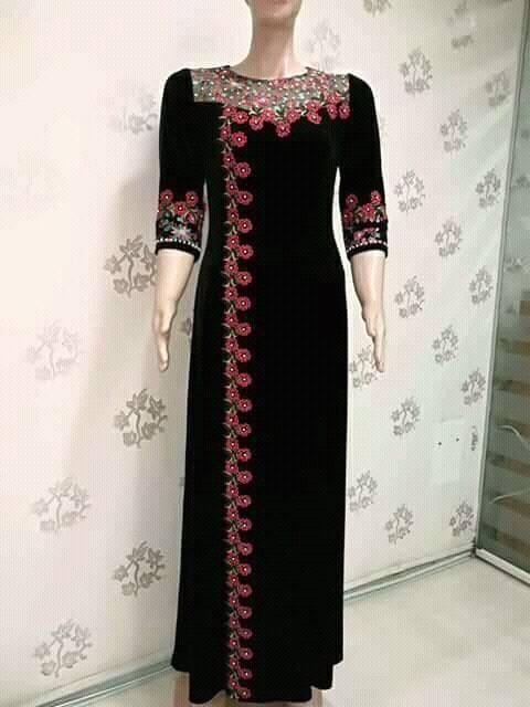 بالصور قنادر قطيفة للاعراس , ملابس نسائية تخبل 3721 10