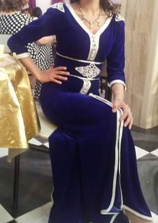 بالصور قنادر قطيفة للاعراس , ملابس نسائية تخبل 3721 16