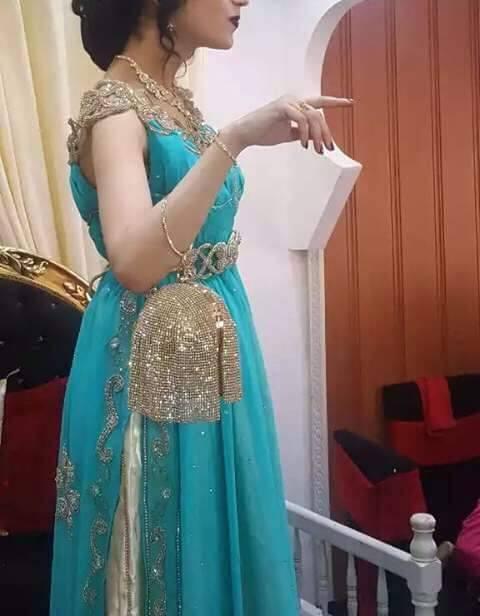 بالصور قنادر قطيفة للاعراس , ملابس نسائية تخبل 3721 2