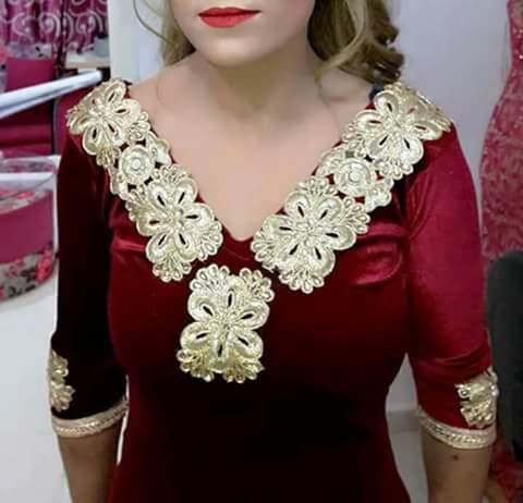 بالصور قنادر قطيفة للاعراس , ملابس نسائية تخبل 3721 3