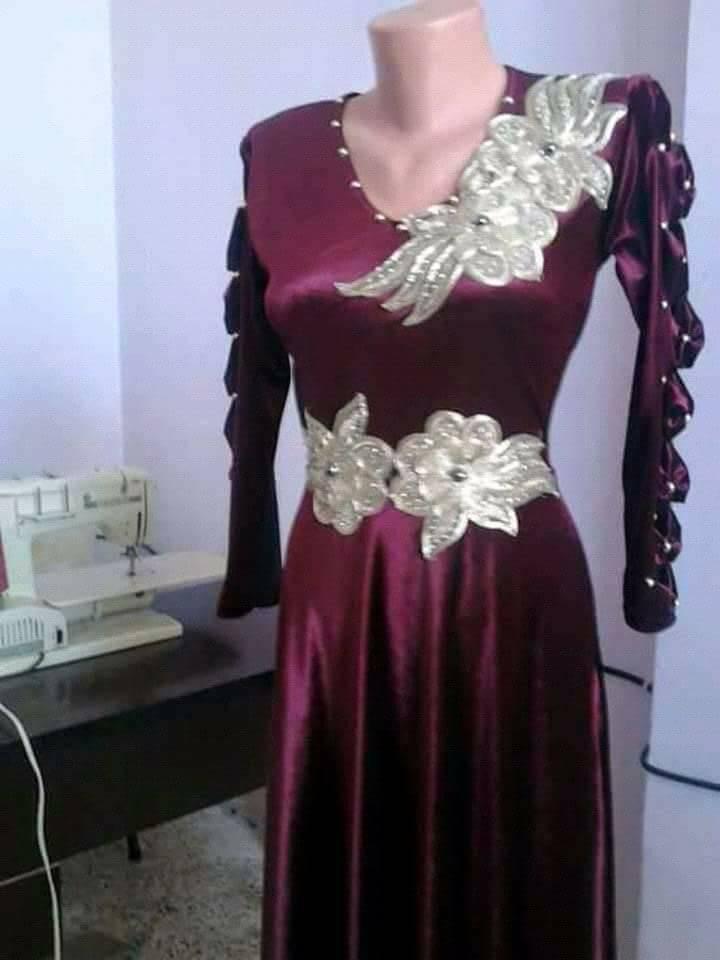 بالصور قنادر قطيفة للاعراس , ملابس نسائية تخبل 3721 4