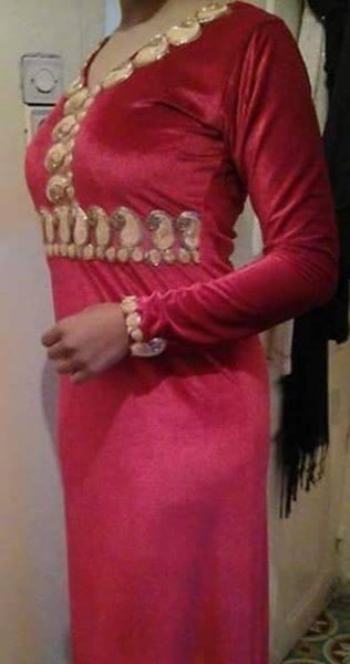 بالصور قنادر قطيفة للاعراس , ملابس نسائية تخبل 3721 6