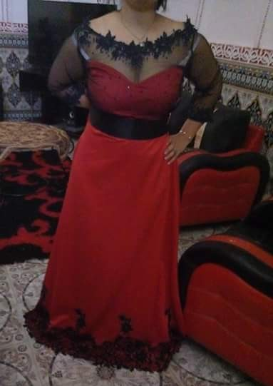 بالصور قنادر قطيفة للاعراس , ملابس نسائية تخبل 3721 7