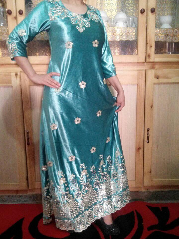 صورة قنادر قطيفة للاعراس , ملابس نسائية تخبل