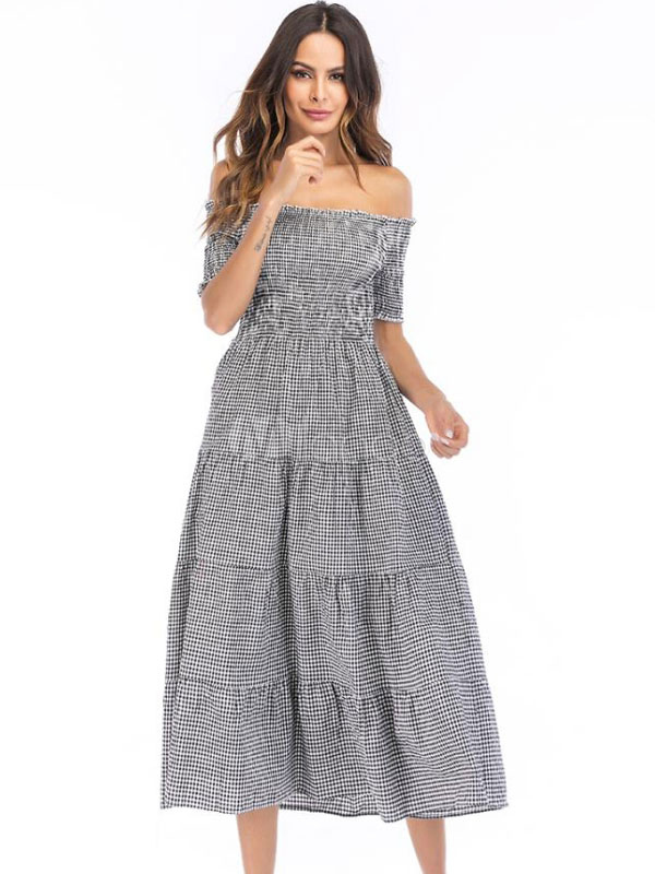 صورة فساتين صيفية , كولكشين صيفي فستان مودرن