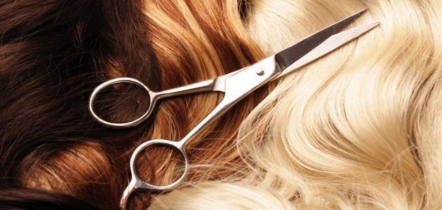 صورة تفسير حلم تقطيع الشعر , تعرف على تفسير حلم تقطيع الشعر