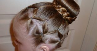 صورة بالصور تسريحات شعر للاطفال , تسريحات شعر كيوت للبنات