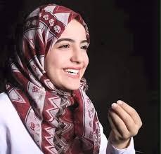 صورة صور امل قطامي بالحجاب , اجمل صور للفنانة امل قطامي محجبة