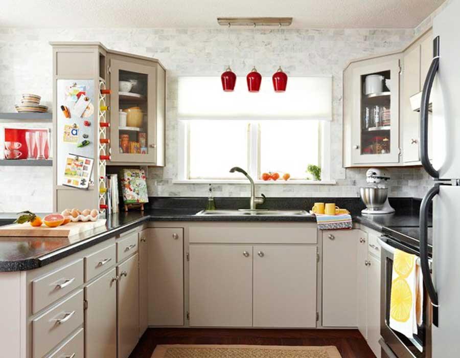 صورة تصاميم مطابخ صغيرة وبسيطة , افكار جميلة للمطابخ