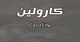صورة معنى اسم كارولين , ما معنى اسم كارولين