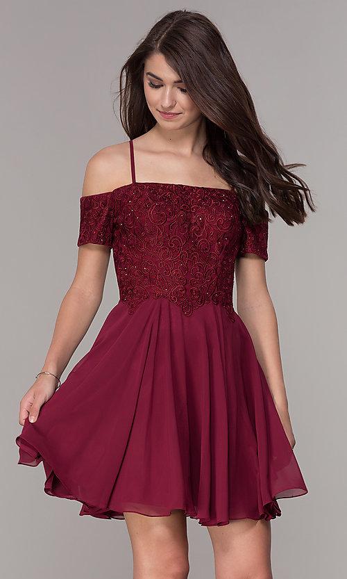صورة فساتين قصيرة , اشيك الفساتين القصيره 1008 1