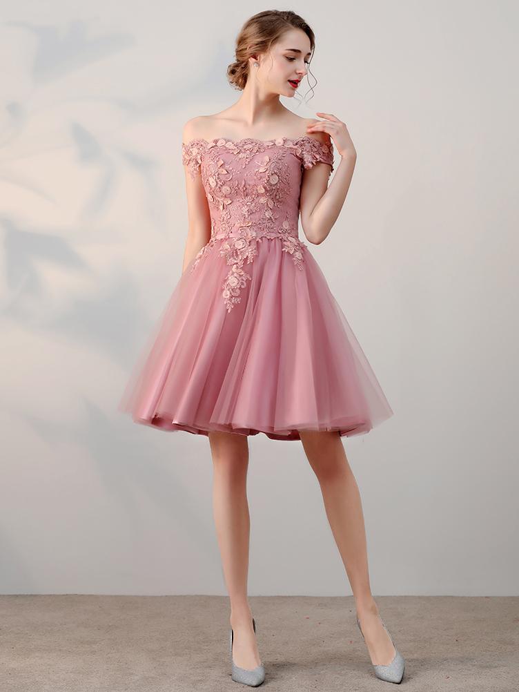 صورة فساتين قصيرة , اشيك الفساتين القصيره 1008 3