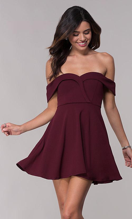 صورة فساتين قصيرة , اشيك الفساتين القصيره 1008 6