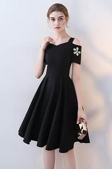 صورة فساتين قصيرة , اشيك الفساتين القصيره 1008 8