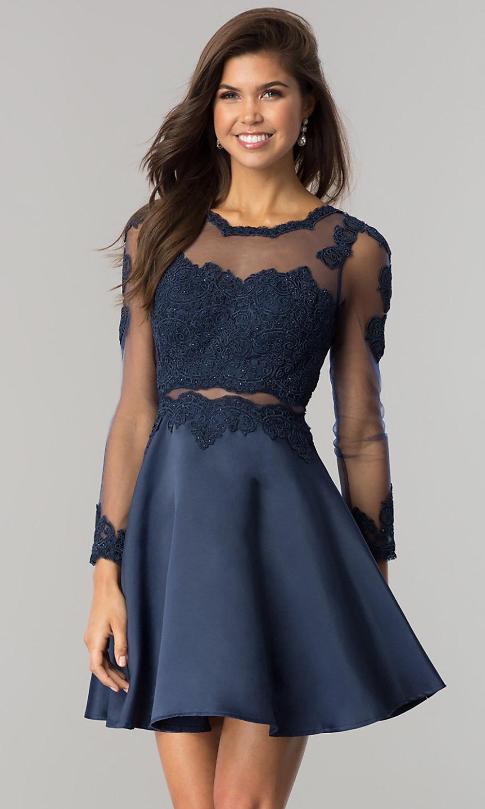 صورة فساتين قصيرة , اشيك الفساتين القصيره 1008