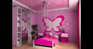 صورة ديكورات جبس غرف نوم اطفال , دللي طفلك في غرفة نومه الجميلة
