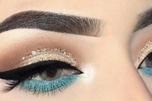صورة اجمل مكياج عيون ,ما اجمل رسمات عيونك