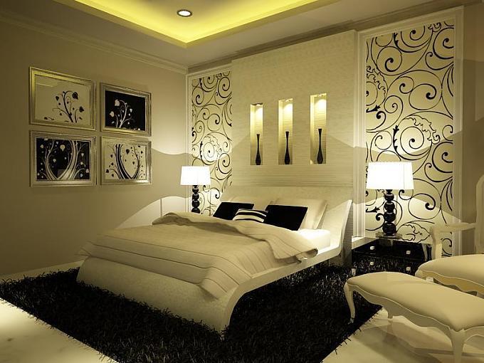 صورة اجمل ديكورات غرف النوم ,شاهد اجمل ديكور لغرفته النوم 251 1