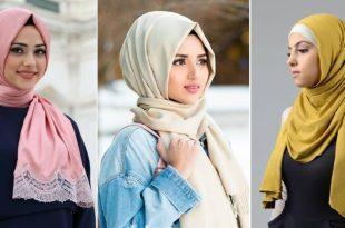 صورة موديلات حجابات تركية ,مجموعته استيلات للفات الطرح التركي