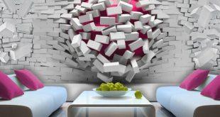 صورة ورق جدران لغرف النوم , اشيك ورق جدران لبيتك