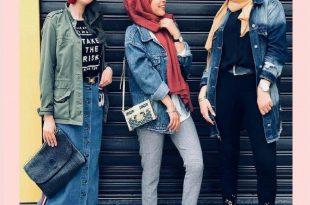 صورة ملابس محجبات كاجوال ,لاشيك الملابس المحجبات المتنوعه