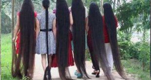 صورة في سر في تطويل شعرها كده ,اطول شعر في العالم