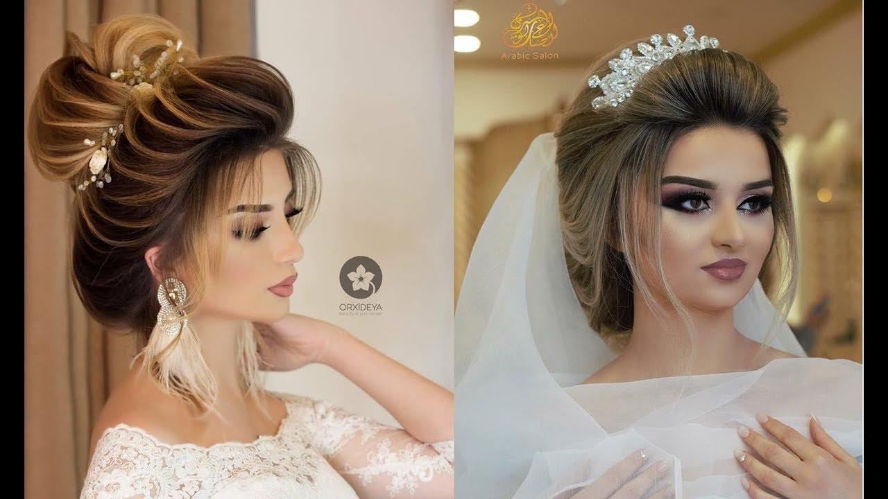 صورة اجمل تسريحات العروس , تسرحات روعة لعرائس 2020 9379 2