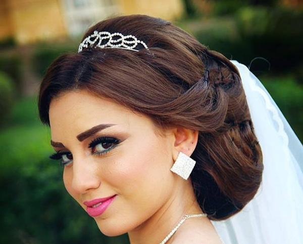 صورة اجمل تسريحات العروس , تسرحات روعة لعرائس 2020 9379 3