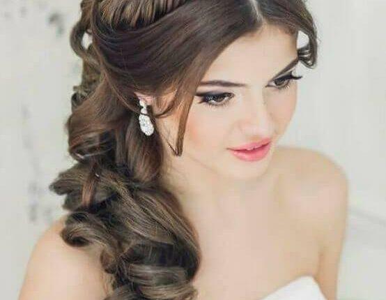 صورة اجمل تسريحات العروس , تسرحات روعة لعرائس 2020 9379 6